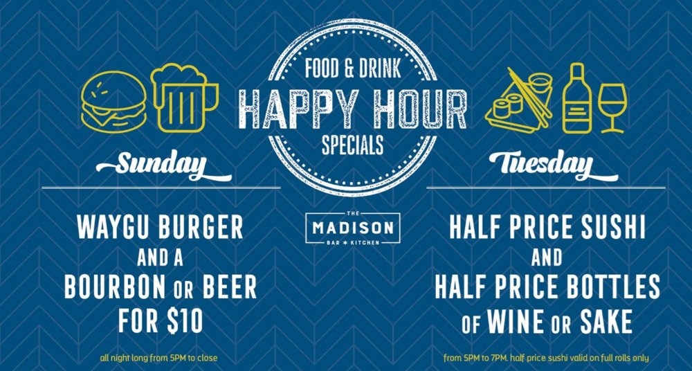 West Loop Chicago Happy Hours