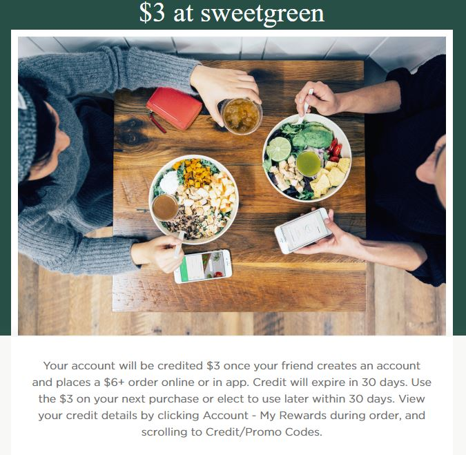 $3 off SweetGreen: - https://www.thelevelup.com/c/LI1Q5TBZ60