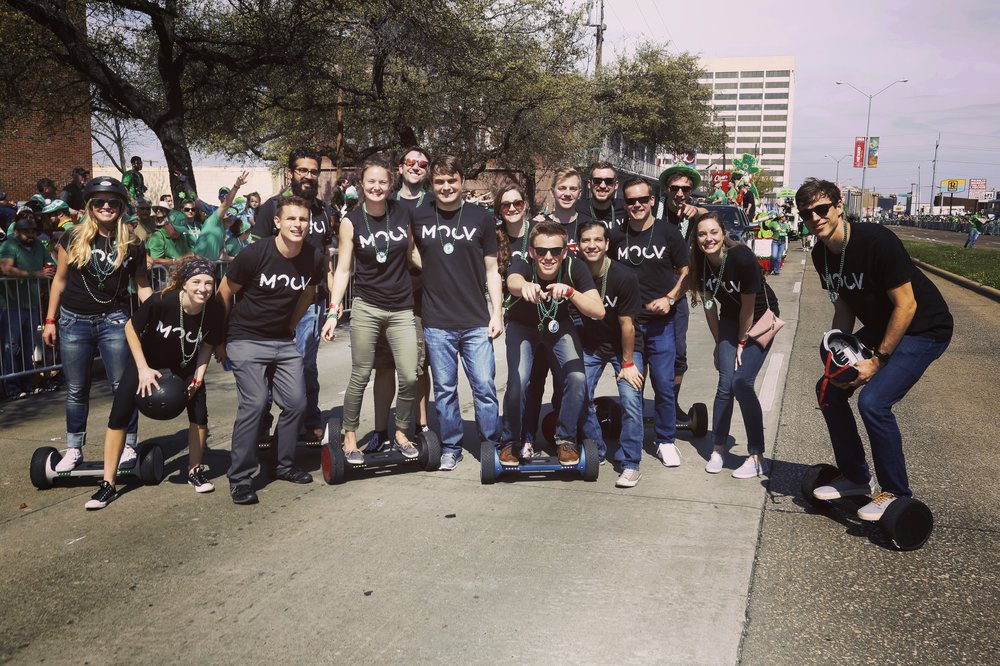 The Radical MOOV crew takes on Dallas Saint Patrick's Day Parade 2017