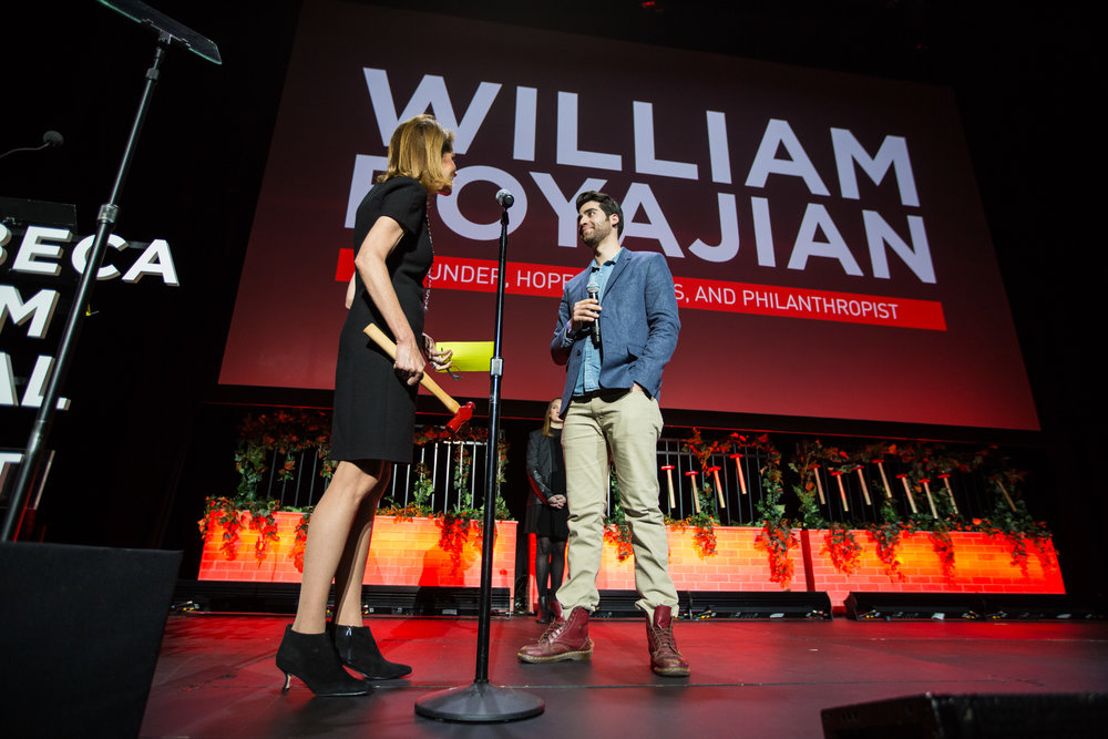 Honoree William Boyajian