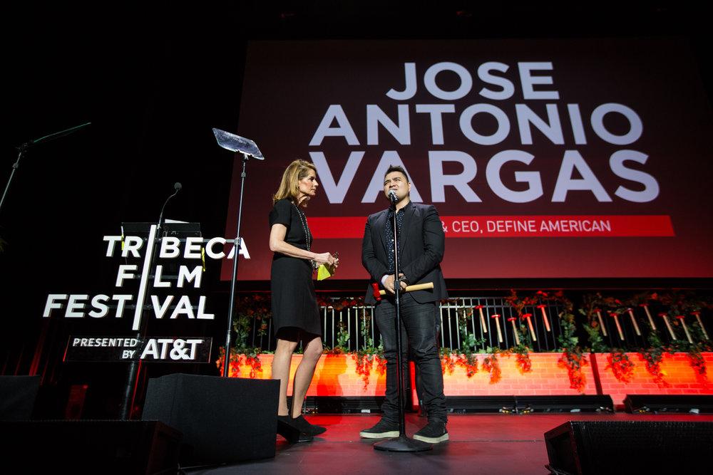 Honoree Jose Vargas