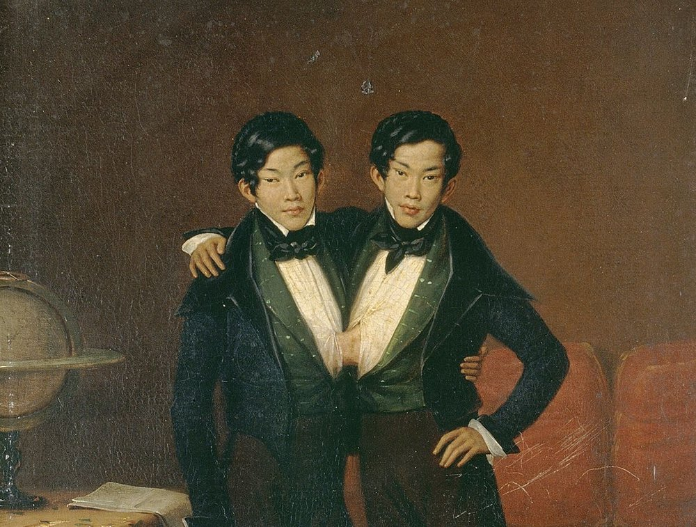 1280px-Chang_and_Eng,_Siamese_twins,_1836._Oil_painting_by_Edouard-_Wellcome_V0017109.jpg