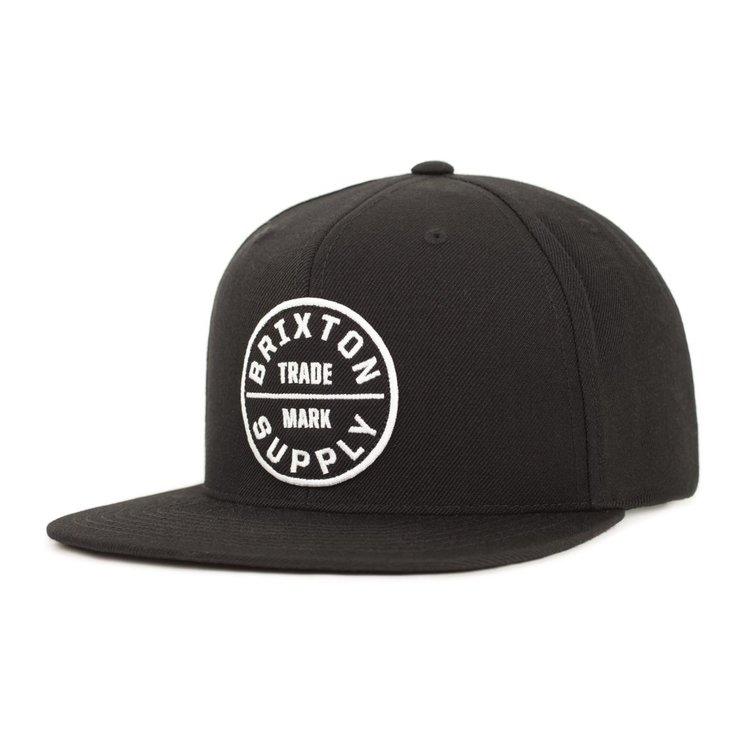 dd32cd40735 Brixton - Oath III Snapback Cap - Black — High Rollers Dublin