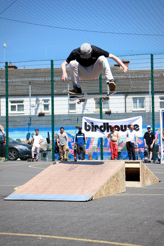 Gav Coughlan - Frontside Flip to flat (@gavcoughlan)