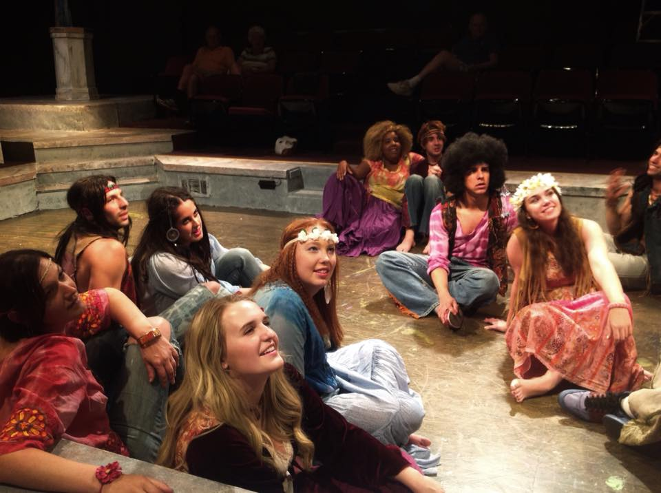 Hair at Chester Theatre Group 2014