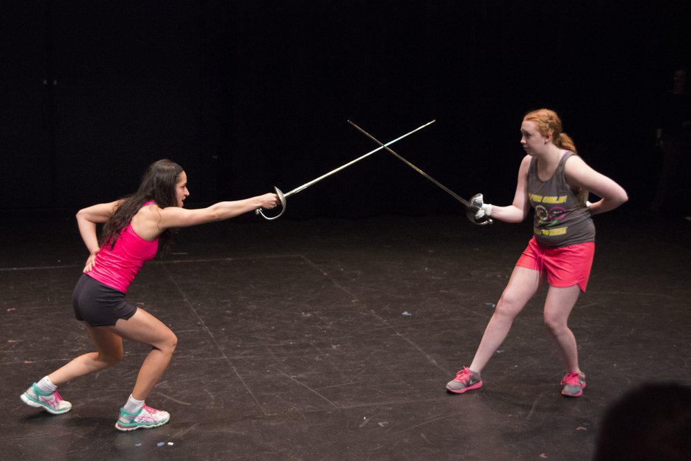 Combat Final Shakespeare Theatre of NJ 2015