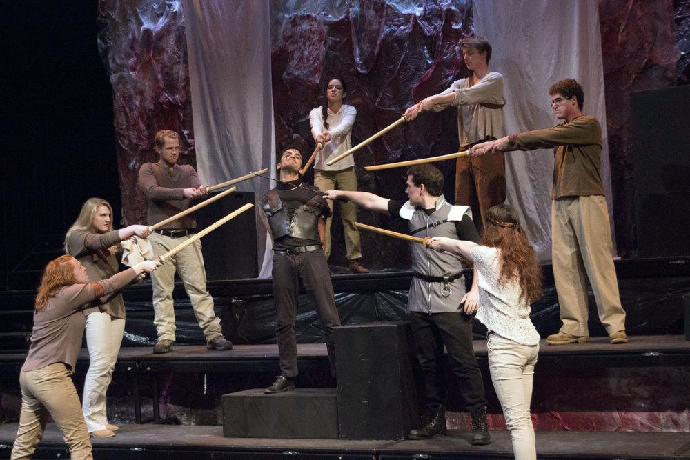 Titus Andronicus Shakespeare Theatre of NJ 2015