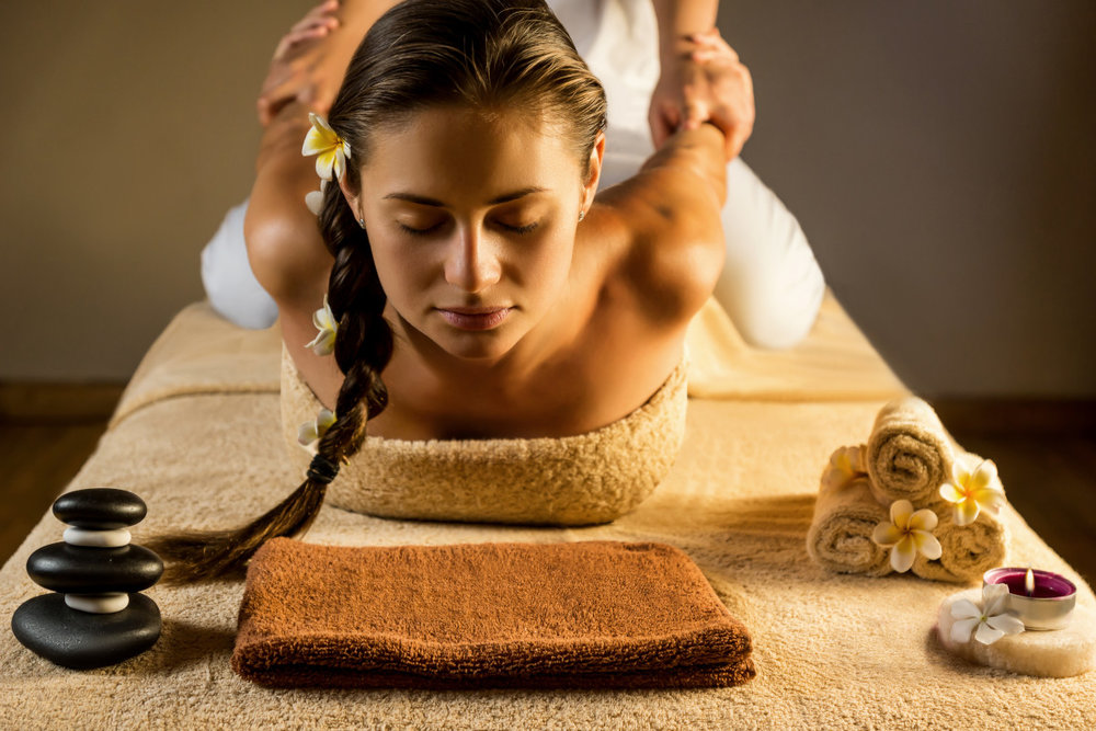 A Relaxing and energizing massage for you -
