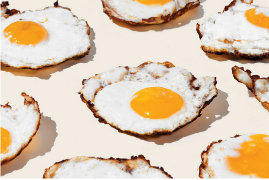 "New York Magazine alphabetically ran through a list of 50 items a ""modern gourmet"" should have in their pantry. Skip down to letter E to read their generous mention about our eggs."