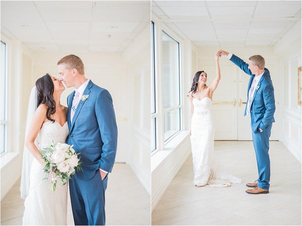 long island wedding photographer bride and groom twirling