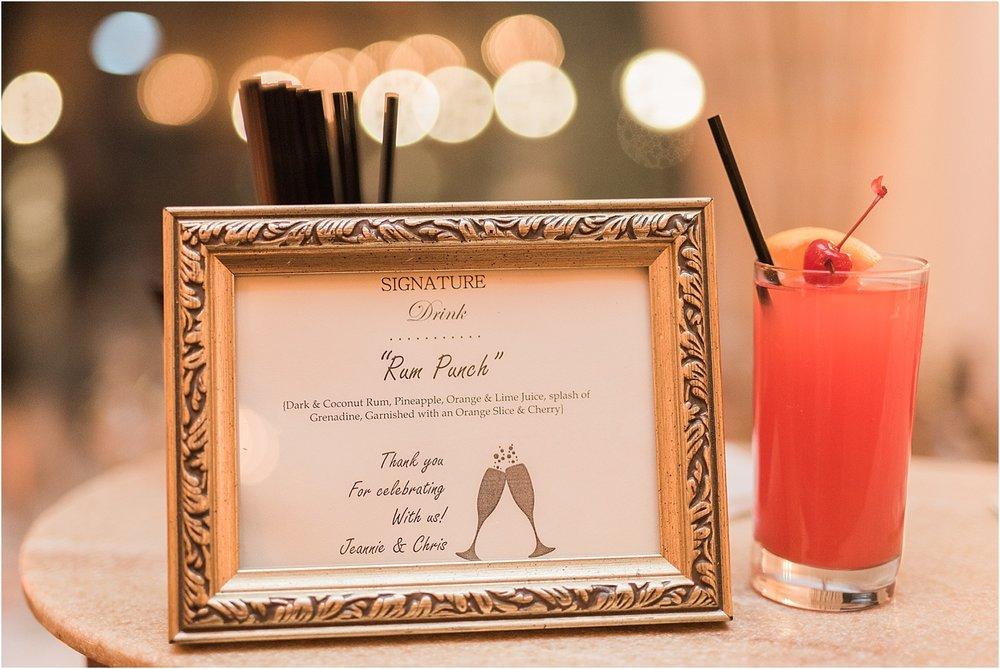 signature drink_nyc wedding