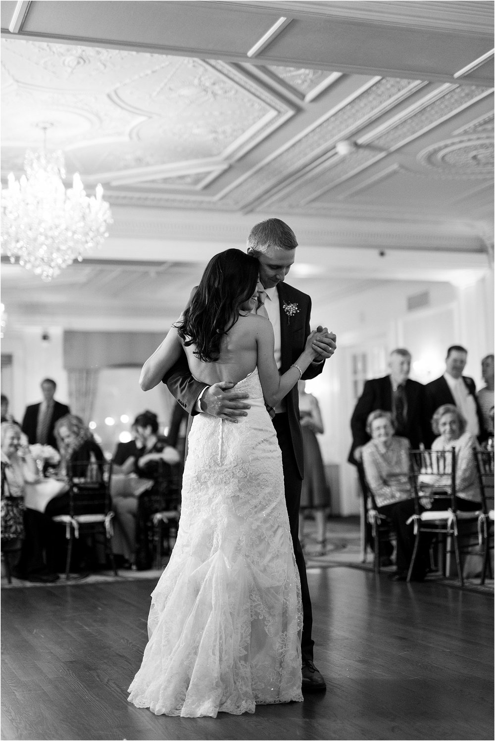 black and white first dance pictures