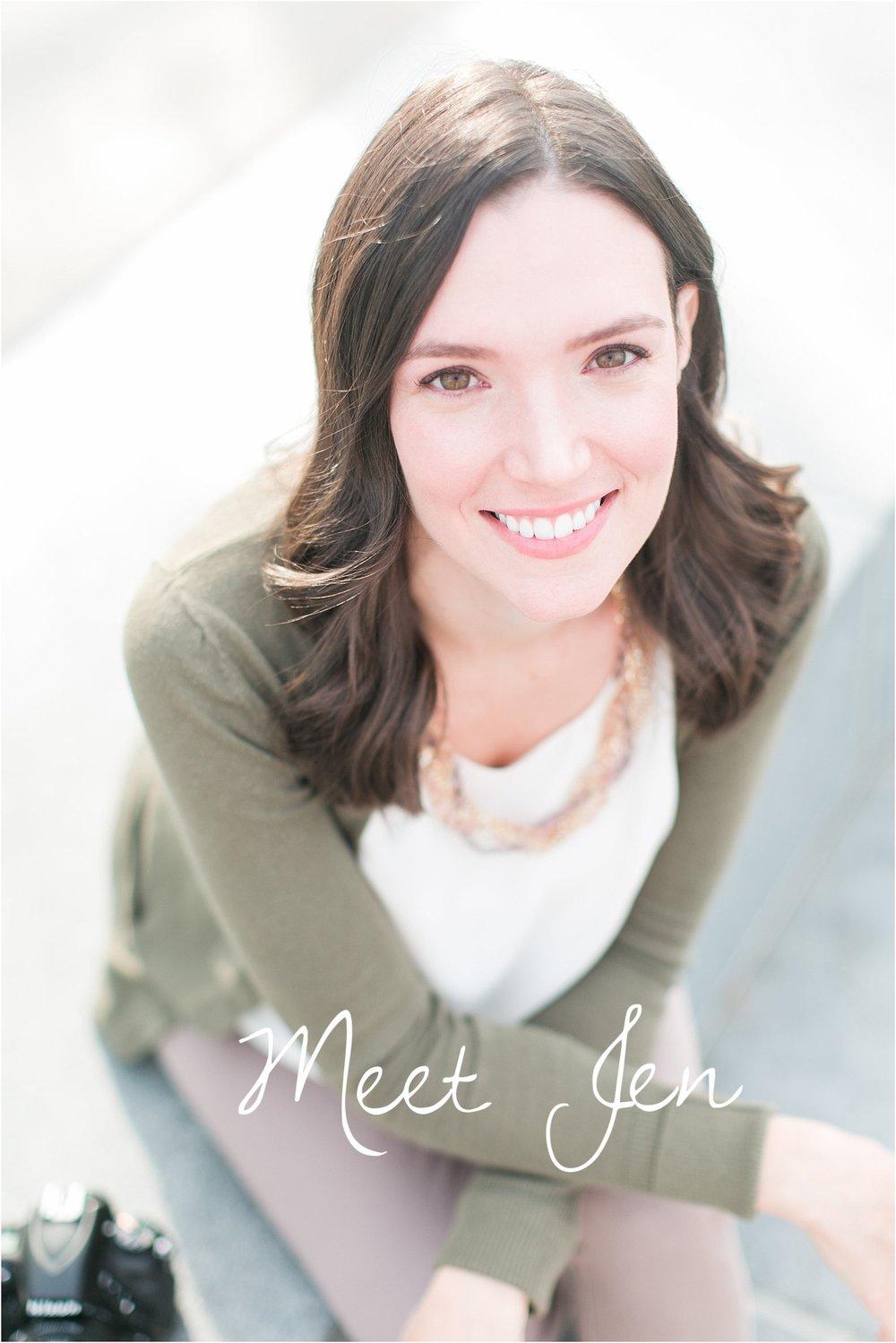 Hi! I'm Jen!