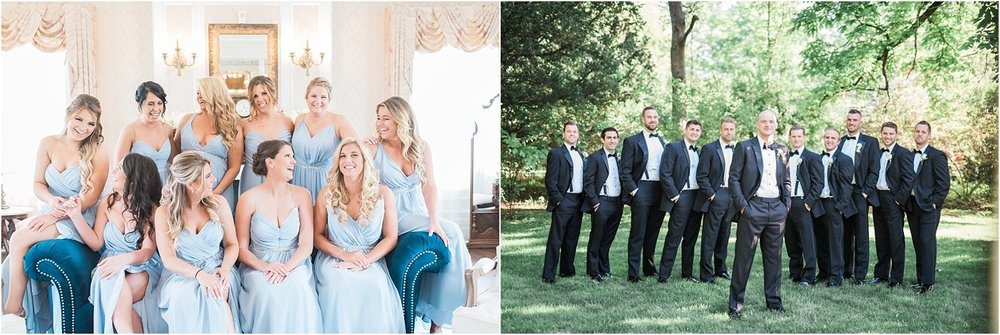 BRIDAL PARTY PORTRAITS LONG ISLAND NEW YORK JENNY YOO DRESSES