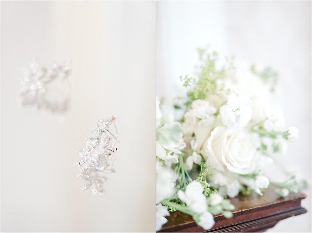 wedding photography nyc bridal earrings