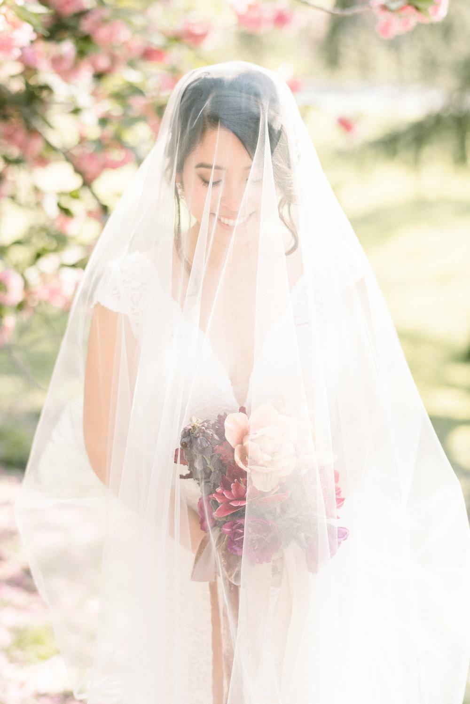 Central Park bride
