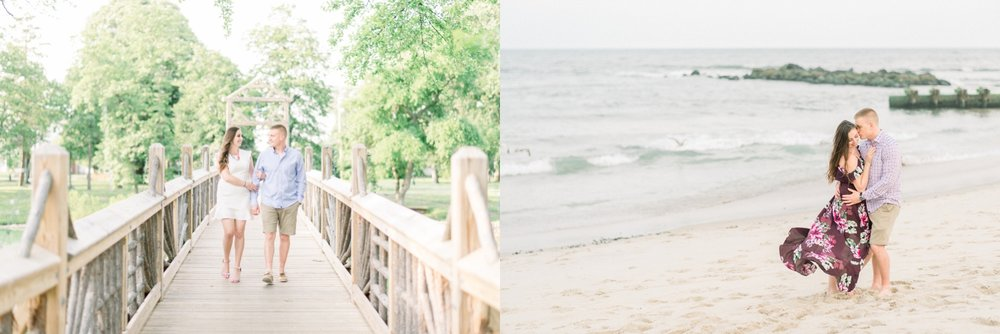 heckscher state park engagement session