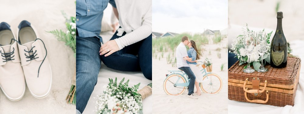 New York picnic engagement session