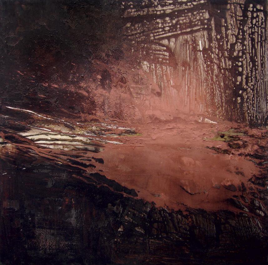Apparition Huile sur toile - 80 X 80 cm