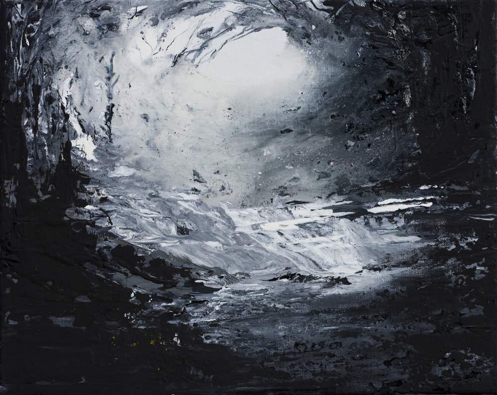 Lueur Huile sur toile - 33 X 41 cm