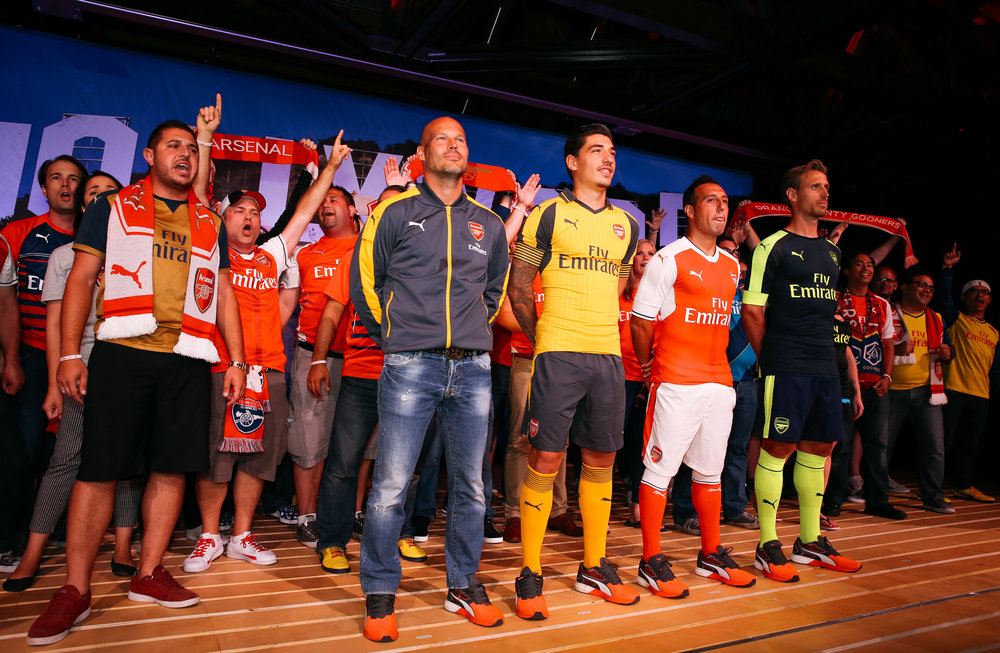 Arsenal Team and Fans