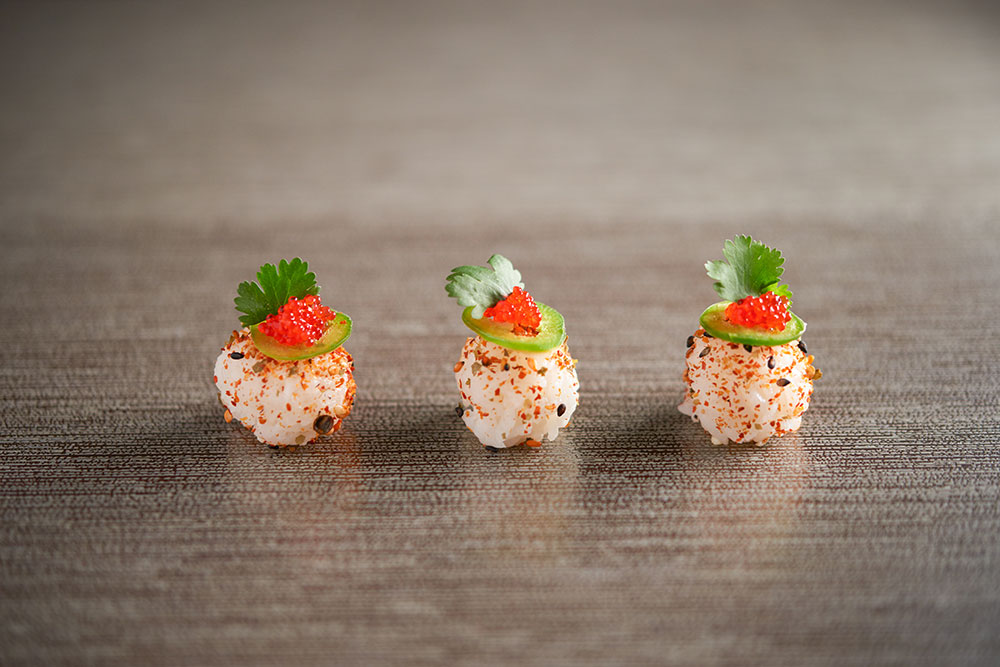 Edamame Sushi Spheres