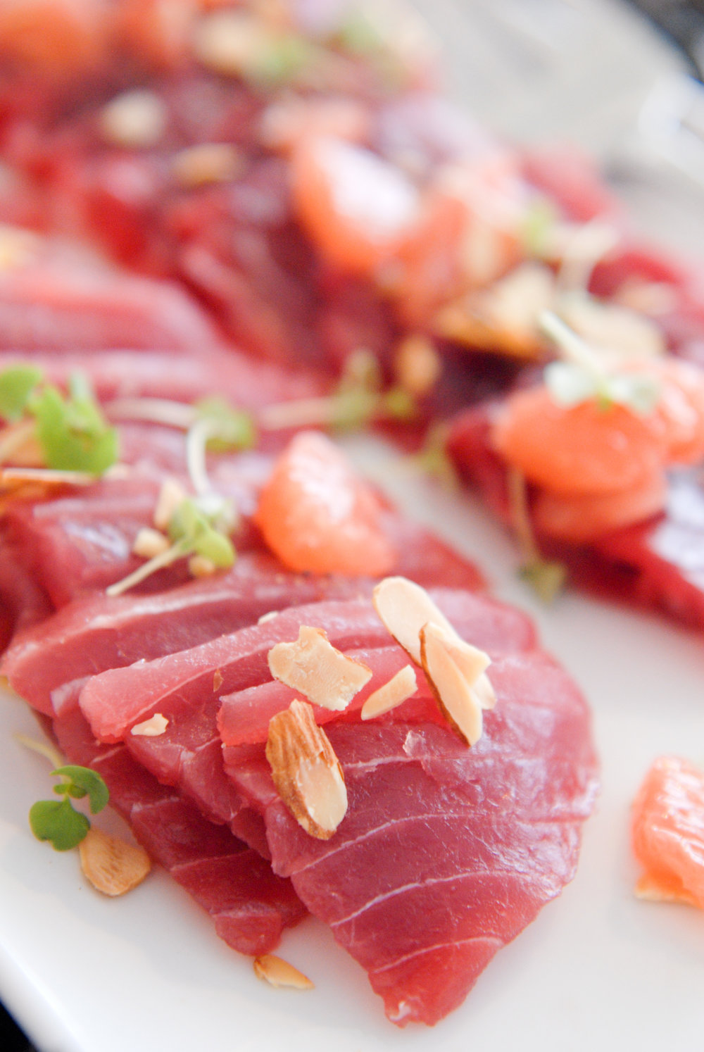Big Eye Tuna Crudo