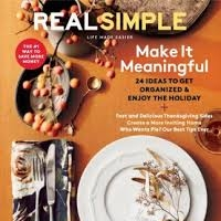 Real Simple Magazine Nov 2017