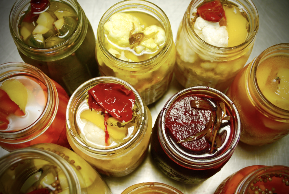 We are in a constant pickle. We have a never-ending rotation of pickles being made in our kitchens.