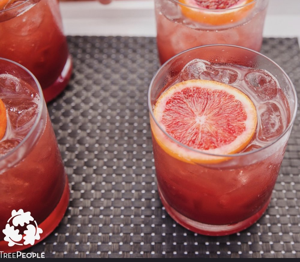 Mulled Wine Spritzer created by the best event Caterer in Los Angeles, Schaffer