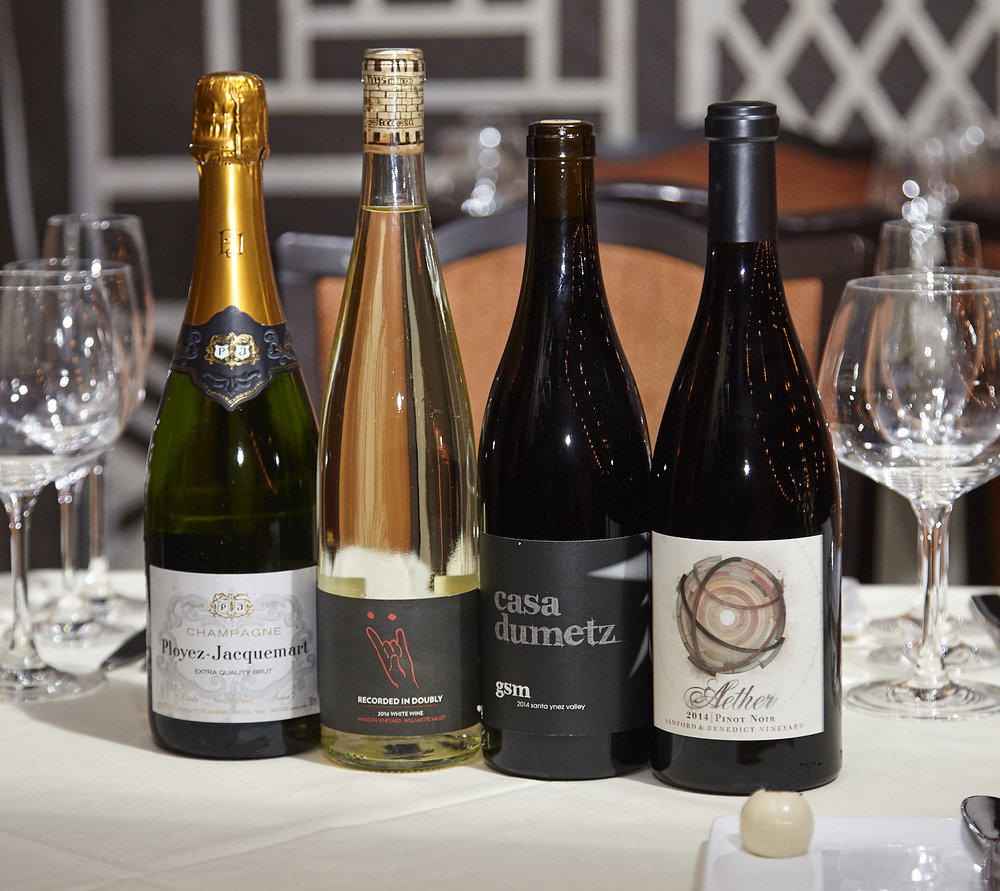 The Best Catering in Los Angeles Serves the best wines like  Ployez Jacquemart , Aether Wine Co. and Casa Dumetz