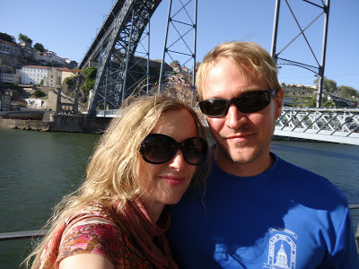 Me and Ian in Porto, Portugal