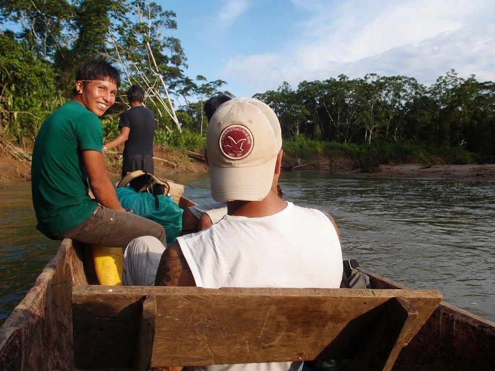 Pegonka on the Shiripuno River