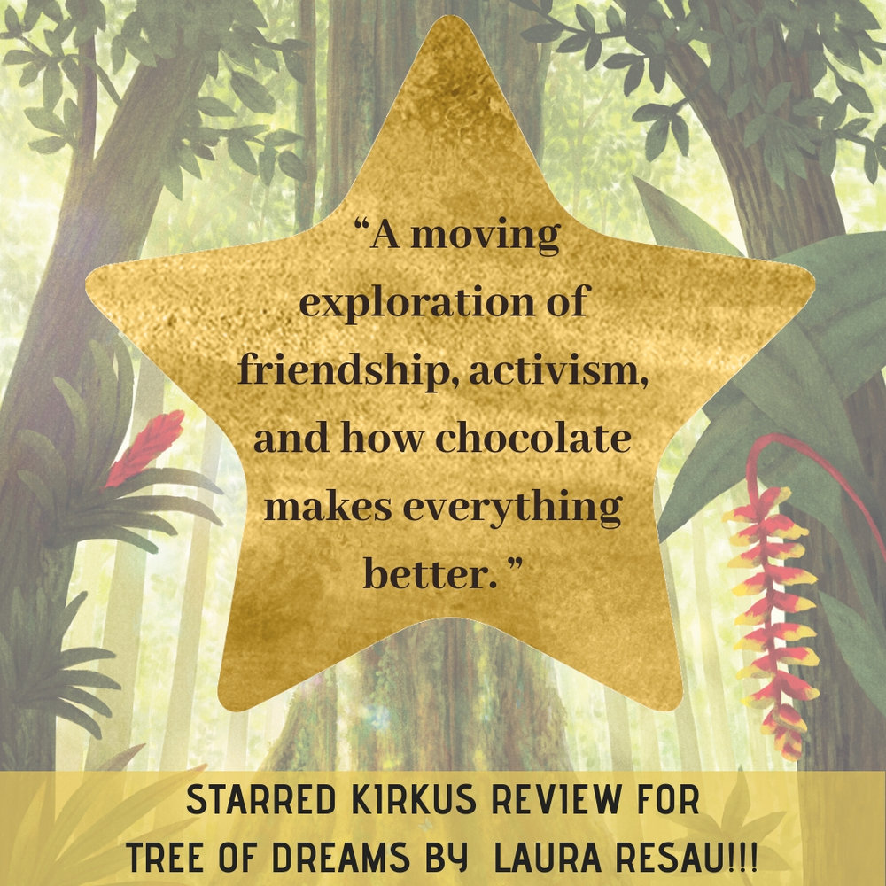 A STARRED review from Kirkus! This was the first review that came in, and I was over the moon!