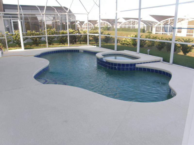 Pool Deck Painting -