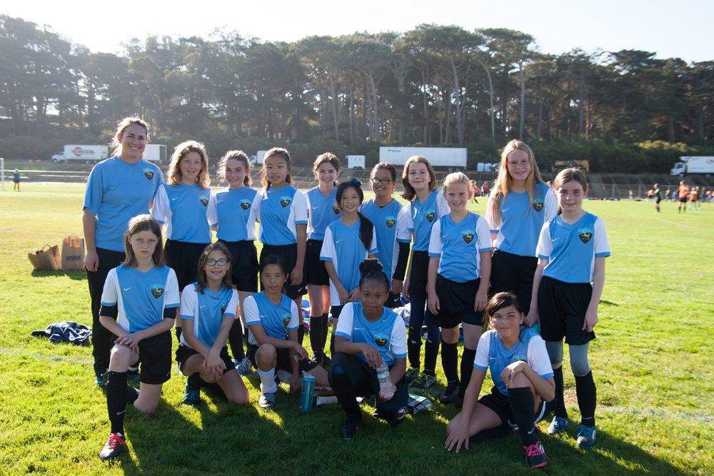 SF Sol Energy 6th Grade Rec Team