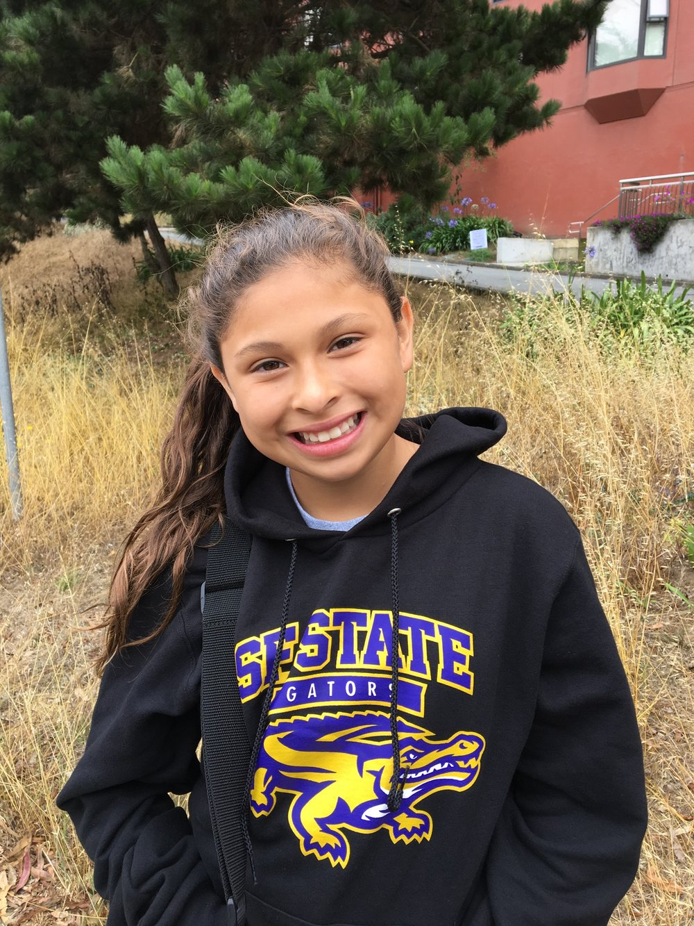 Hello! - My name is Jennifer Lopez-Valencia and I'm 11 years old in 6th grade. I started playing soccer with Girls Leading Girls in 4th grade.