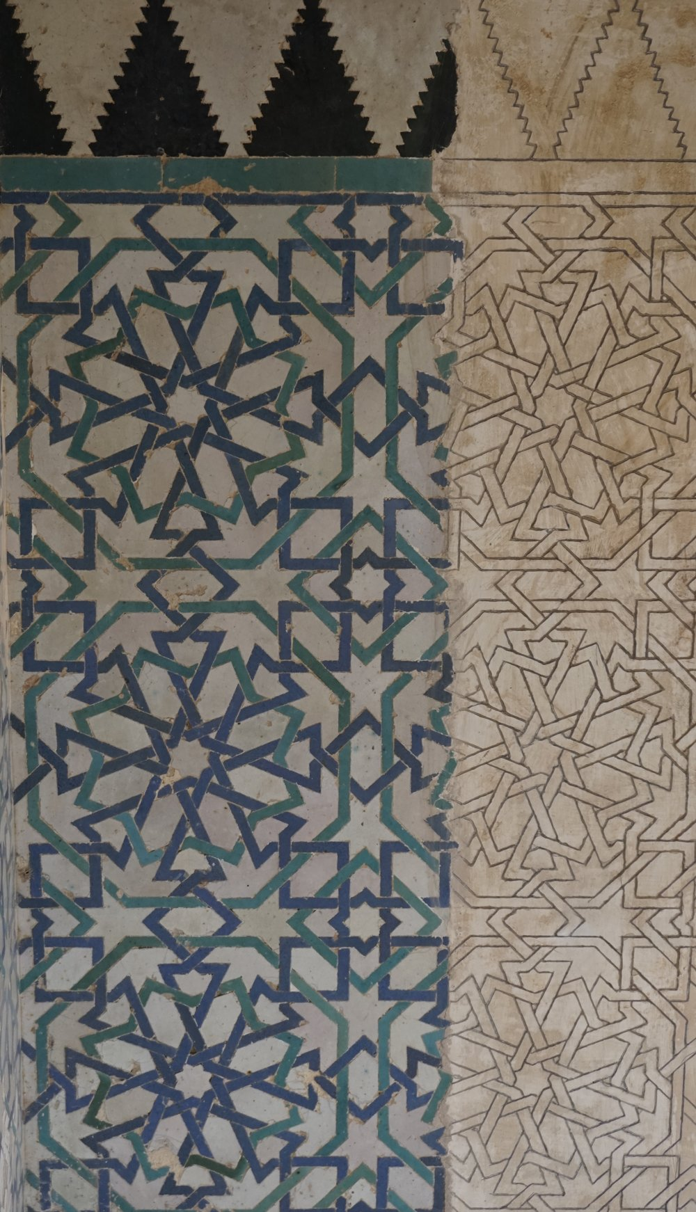 Tile details from the Alhambra