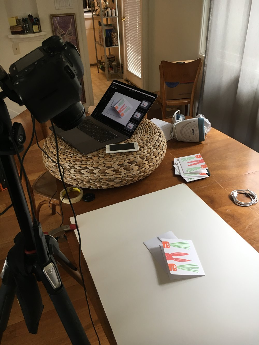 The dining room table studio