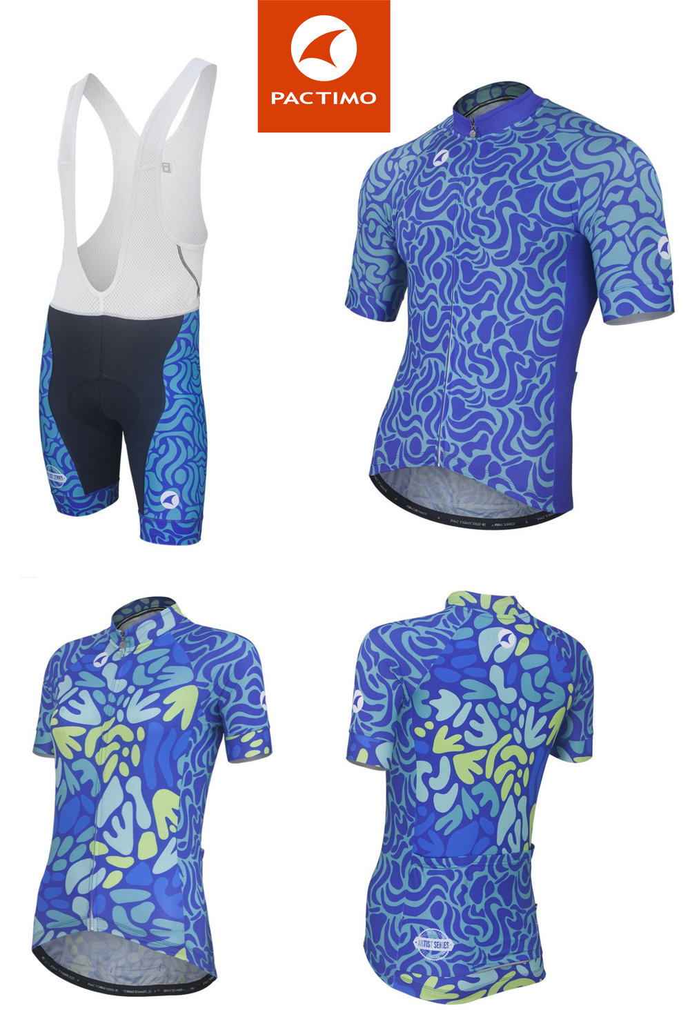 Pactimo Artist Series - Cycling Jersey Design     Link to visit the site