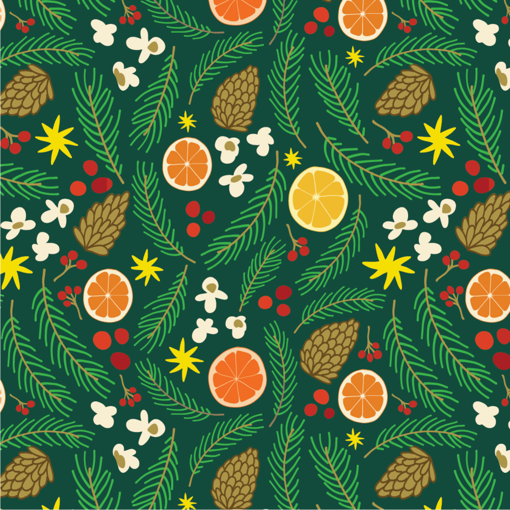 Winter Holiday Patterns -