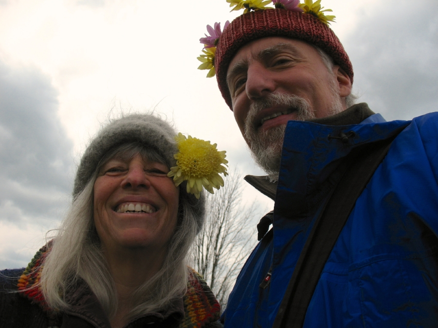 Suzy and Todd at a Spring Equinox celebration
