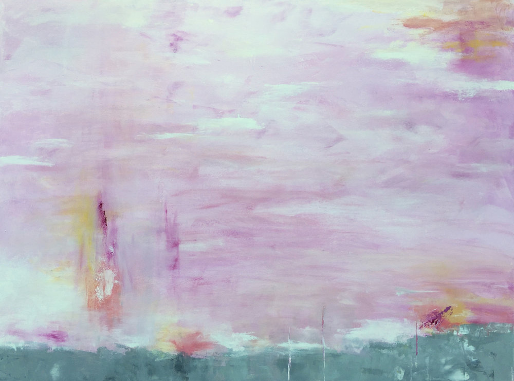 Pink Cloud No. 2, $2,200