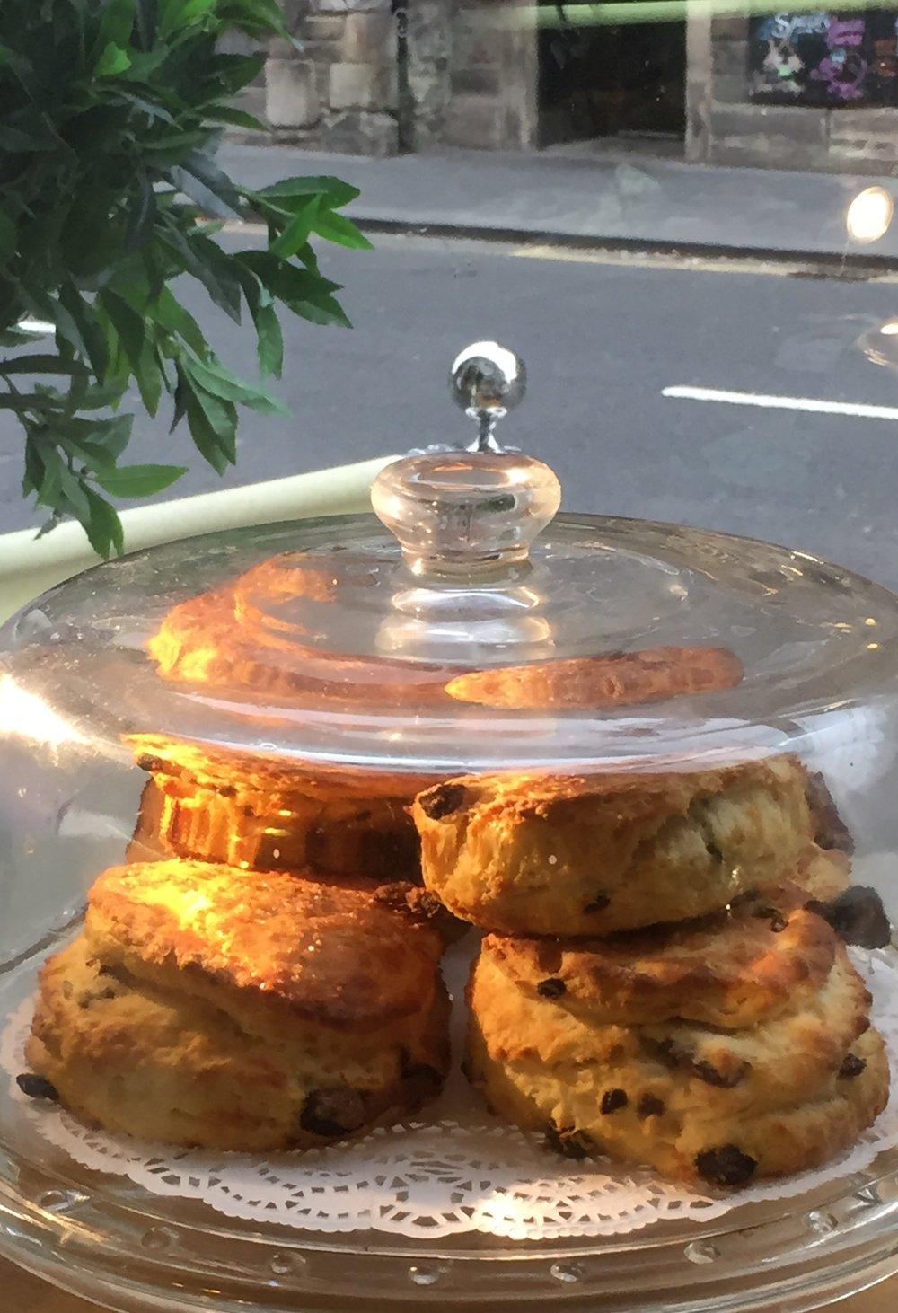 Ginger and raisin scones (2).JPG