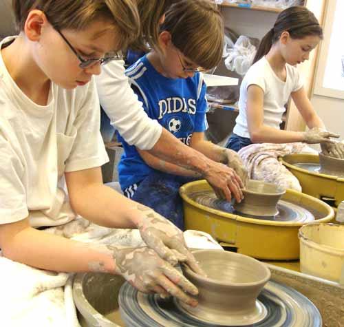 Awesome Kids Pottery Wheel