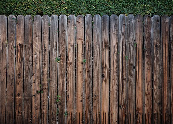 wood fence installed in Renton, WA