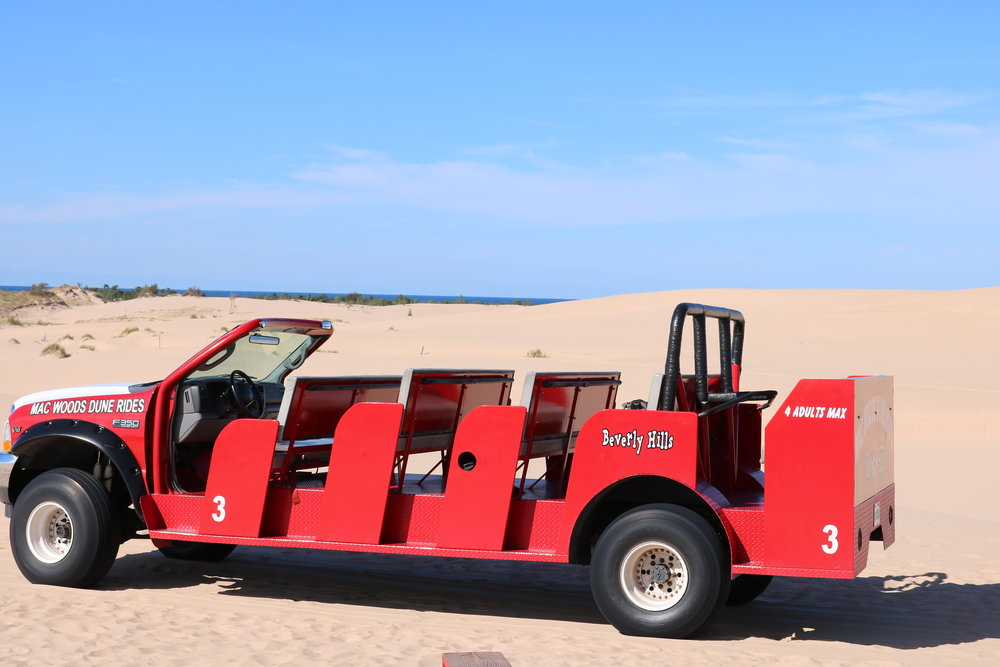 red dune jeep rides