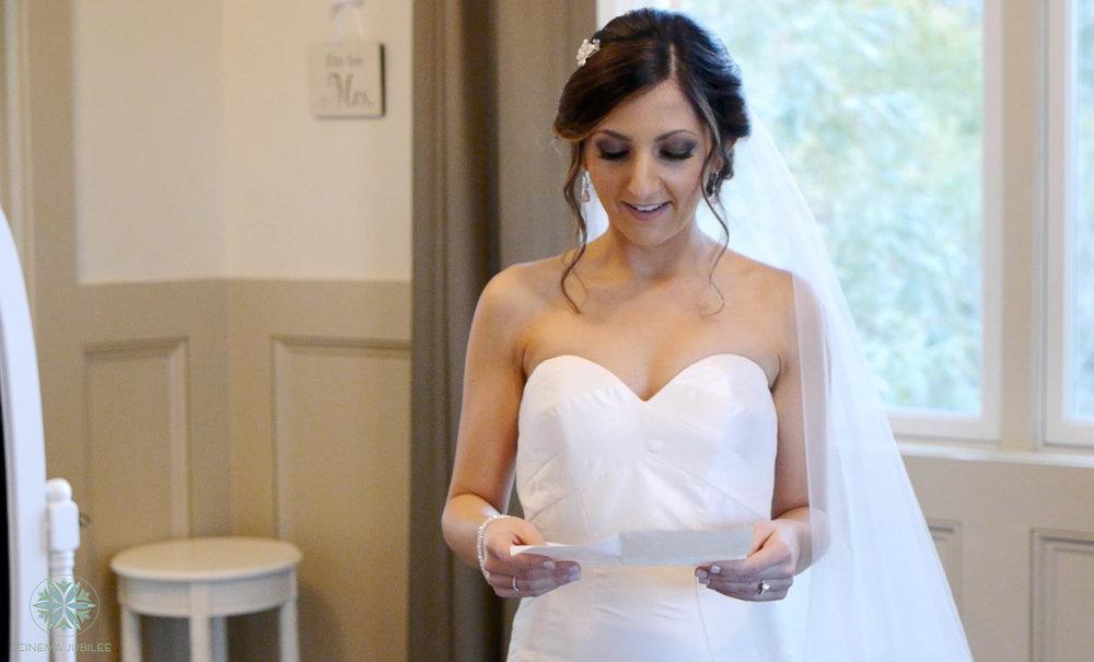 bride letter exchange