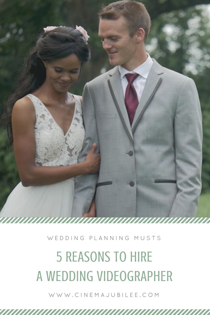 hire a wedding videographer pinterest
