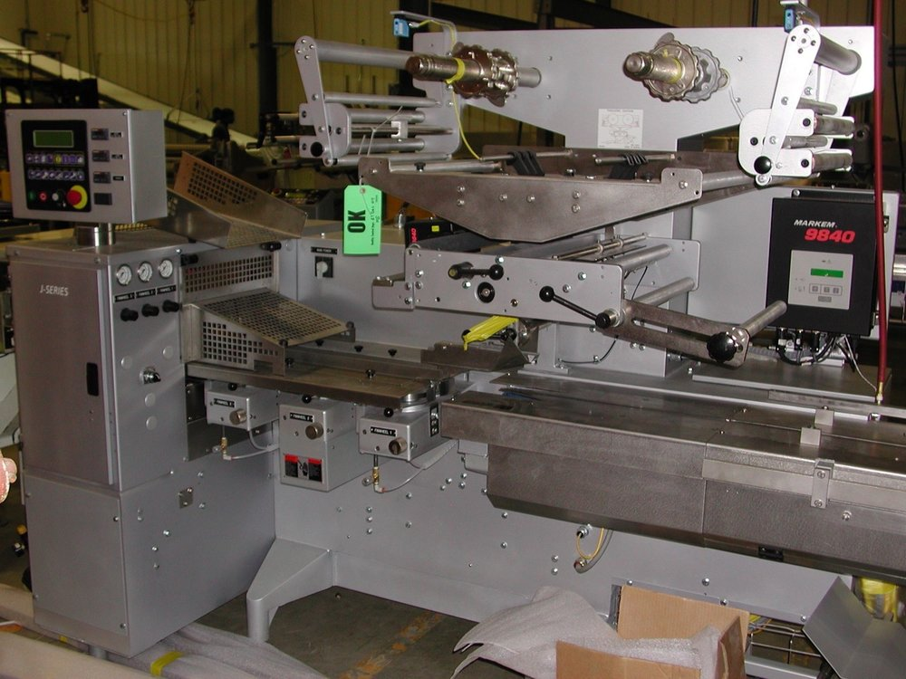 Manufacturing equipment ready to produce